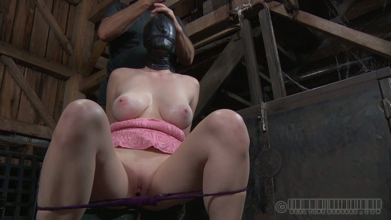 Busty ardent doxy with huge tits takes part in insane BDSM sex play