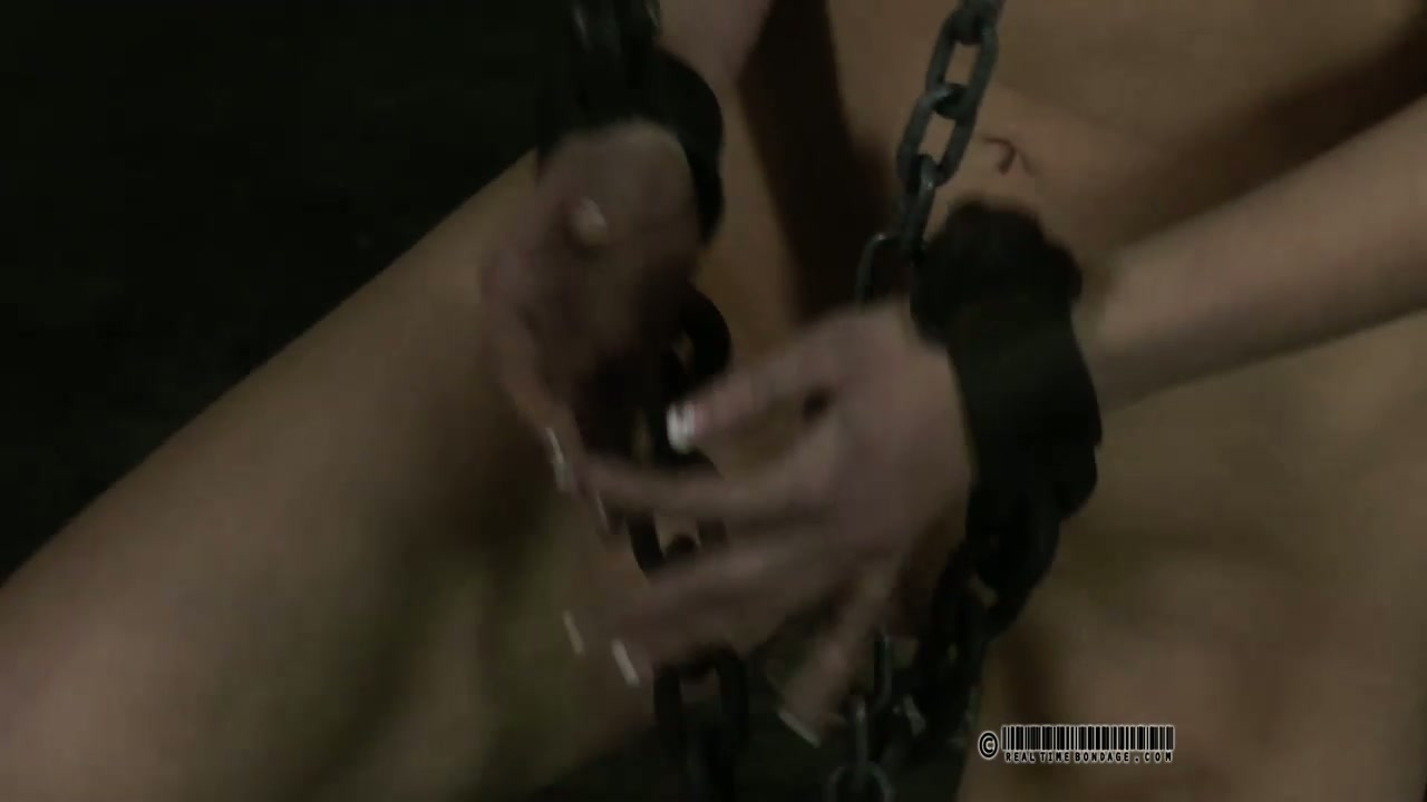 Short blond student is ready for some ballet moves in BDSM sex scene