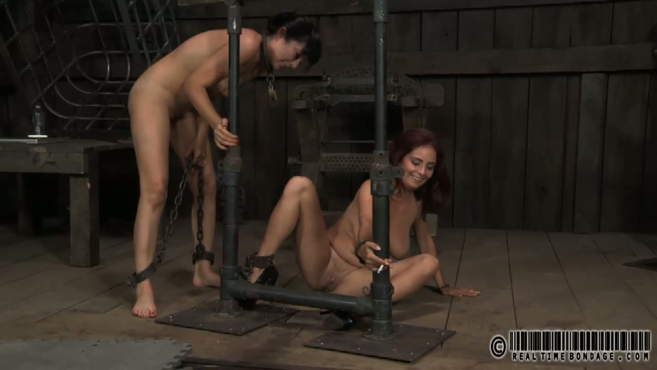 Two shabby looking matures relax in anticipation for insane BDSM tortures