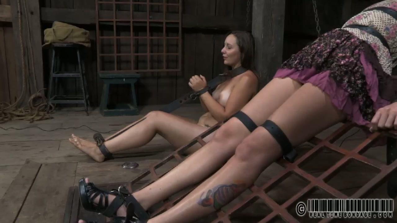 Two chubby sluts enjoys dirty BDSM sex play